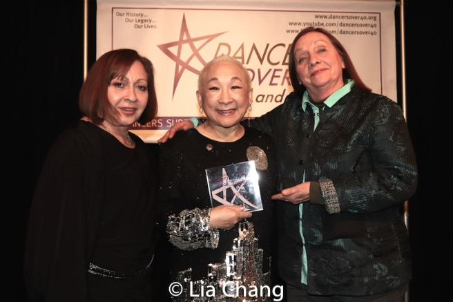 Tamara Torres, Lori Tan Chinn and Dale Soules. Photo by Lia Chang