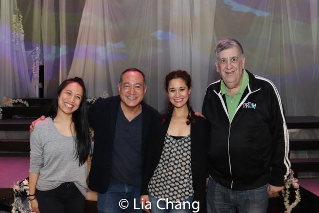 Jessica Wu, Alan Muraoka, Ali Ewoldt and Elliott Masie. Photo by Lia Chang