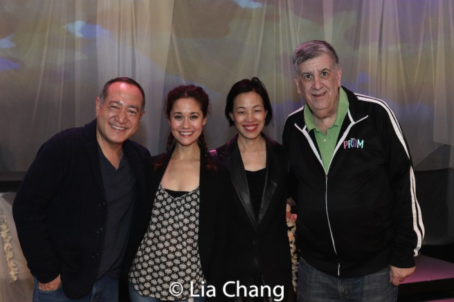 Alan Muraoka, Ali Ewoldt, Lia Chang, Elliott Masie. Photo by Jessica Wu