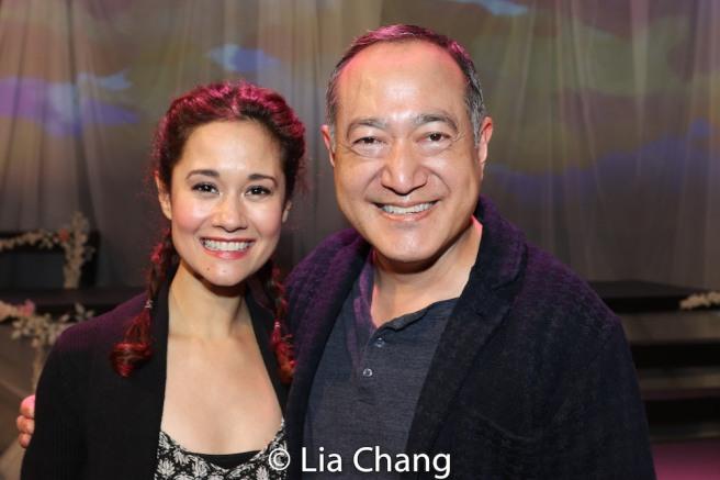 Ali Ewoldt and Alan Muraoka. Photo by Lia Chang
