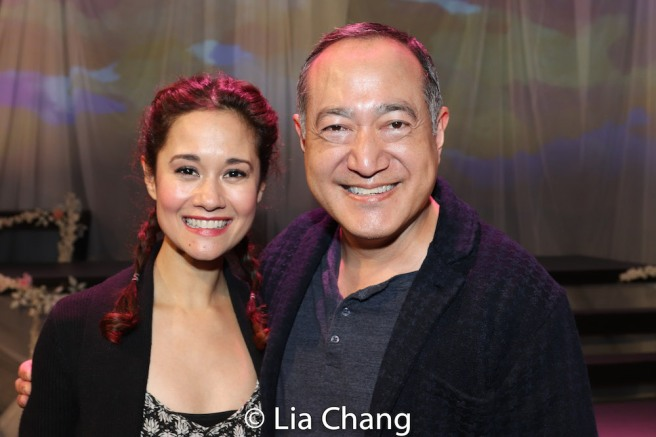Ali Ewoldt and Alan Muraoka. Photo by Lia Chang