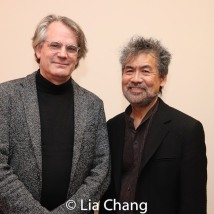 Bartlett Sher and David Henry Hwang. Photo by Lia Chang