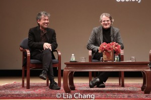 David Henry Hwang and Bartlett Sher. Photo by Lia Chang