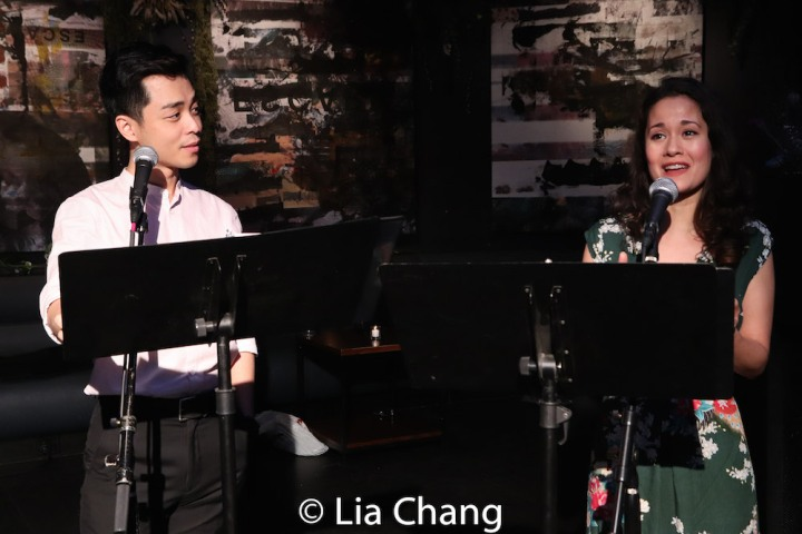 Jonny Lee, Jr. and Ali Ewoldt. Photo by Lia Chang