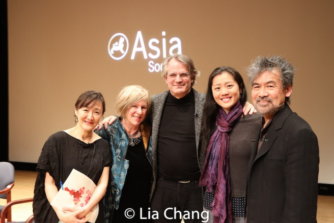 Karen Shimakawa, Rachel Cooper, Bartlett Sher, Marina Chan and David Henry Hwang