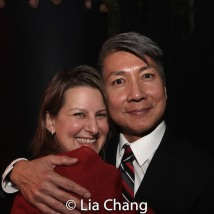 Kristen Lee Rosenfeld, Jason Ma. Photo by Lia Chang