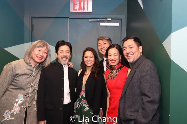 June Jee, Tony Jee, Ali Ewoldt, Jason Ma, Lia Chang and Alan Ariano. Photo by Garth Kravits