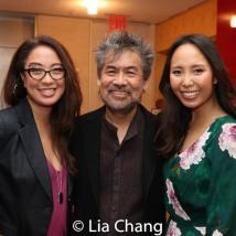 Jaygee Macapugay, David Henry Hwang and Emily Borromeo. Photo by Lia Chang