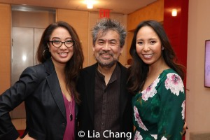 Jaygee Macapugay, David Henry Hwang and Emily Borromeo. Photo by Lia Chang