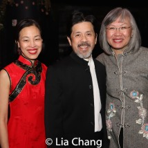 Lia Chang, Tony Jee and June Jee. Photo by Garth Kravits