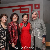 Linda Sanchez, Lucy Kan, Lia Chang, June Jee. Photo by Garth Kravits