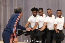 C.K. Edwards, Lamont Brown, Wesley J. Barnes and Tommy Scrivens. Photo by Lia Chang