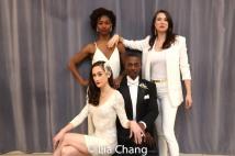 Kaleigh Cronin, Ken Ard, Jenny Laroche and Danielle Kelsey. Photo by Lia Chang