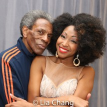André De Shields and N'Kenge. Photo by Lia Chang