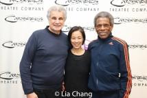 Jim Mirrione, Lia Chang and André De Shields.