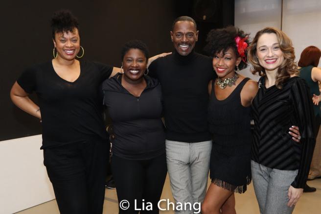 Jacqueline B. Arnold, Johmaalya Adelekan, Ken Ard, N'Kenge, Lianne Marie Dobbs. Photo by Lia Chang