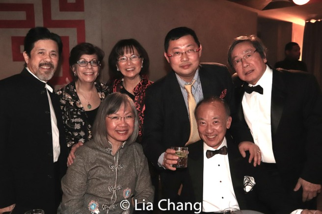 Back Row: Tony Jee, Linda Sanchez, Lucy Kan, Ben Wu, Victor Kan. Front Row: June Jee and Greg Ho. Photo by Lia Chang
