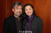 David Henry Hwang and Marina Chan. Photo by Lia Chang