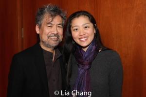 David Henry Hwang and Marina Chan. Photo by Lia Chang