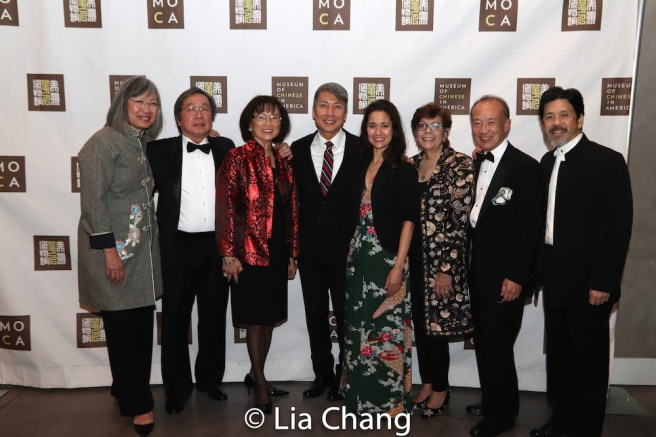 June Jee, Victor Kan, Lucy Kan, Jason Ma, Ali Ewoldt, Linda Sanchez, Greg Ho and Tony Jee. Photo by Lia Chang