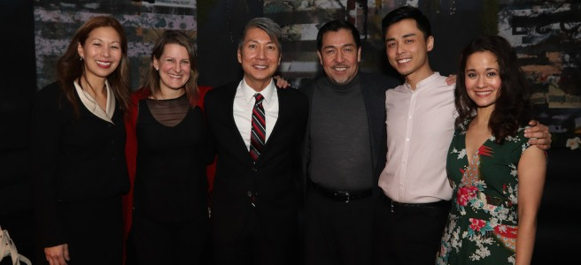 Nancy Yao Maasbach, Kristen Lee Rosenfeld, Jason Ma, Alan Ariano, Jonny Lee, Jr. and Ali Ewoldt. Photo by Lia Chang