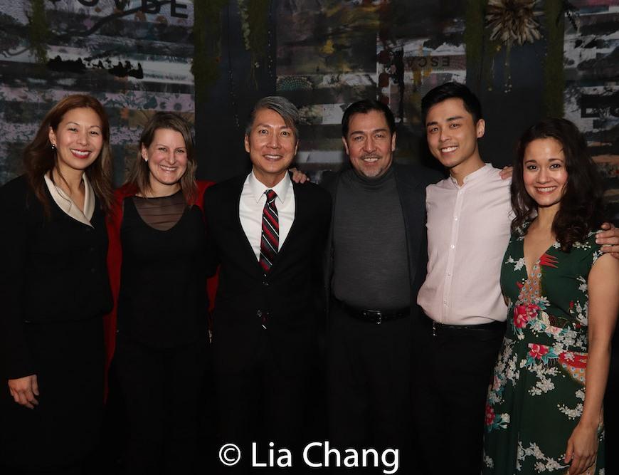 Nancy Yao Maasbach, Kristen Lee Rosenfeld, Jason Ma, Alan Ariano, Jonny Lee, Jr. and Ali Ewoldt. Photo by Lia Chang
