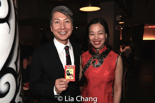 Jason Ma and Lia Chang. Photo by Garth Kravits