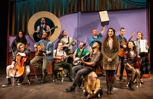 "The cast of Pioneer Theatre Company's ""Once,"" running from Feb. 15-March 2. Photo by BW Productions"