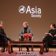 David Henry Hwang, Bartlett Sher and Karen Shimakawa. Photo by Lia Chang
