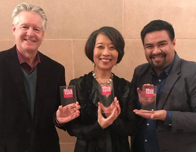 Timothy Patterson, Jeanne Sakata and Jeffrey Lo.