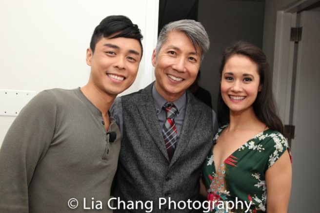 Jonny Lee, Jr., Jason Ma and Ali Ewoldt. Photo by Lia Chang