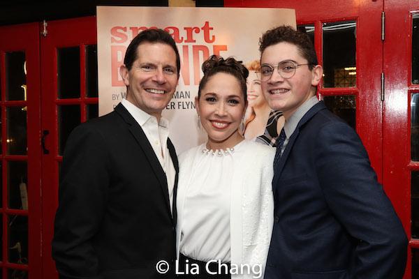 Peter Flynn, Andrea Burns, Hudson Flynn. Photo by Lia Chang