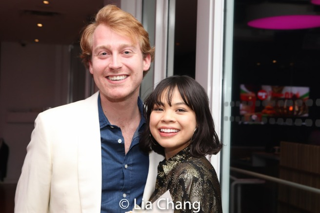 Daniel Dunlow and Eva Noblezada. Photo by Lia chang