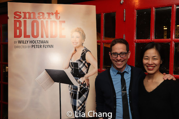 Garth Kravits and Lia Chang. Photo by Lia Chang