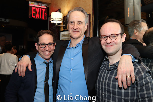 Garth Kravits, Mark Lotito and Jonathan Spivey. Photo by Lia Chang