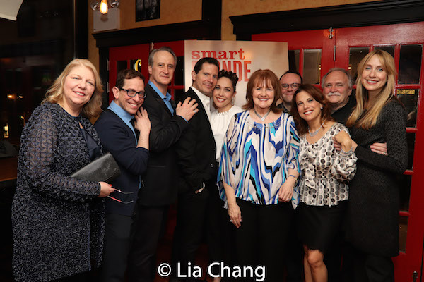 Judith Manocherian, Garth Kravits, Mark Lotito, Peter Flynn, Andrea Burns, Mary J. Davis, Jonathan Spivey, Andrea Bianchi, Willy Holtzman, Laura Jordan. Photo by Lia Chang