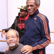 Musical Director Nat Adderley, Jr. and Director André De Shields. Photo by Lia Chang