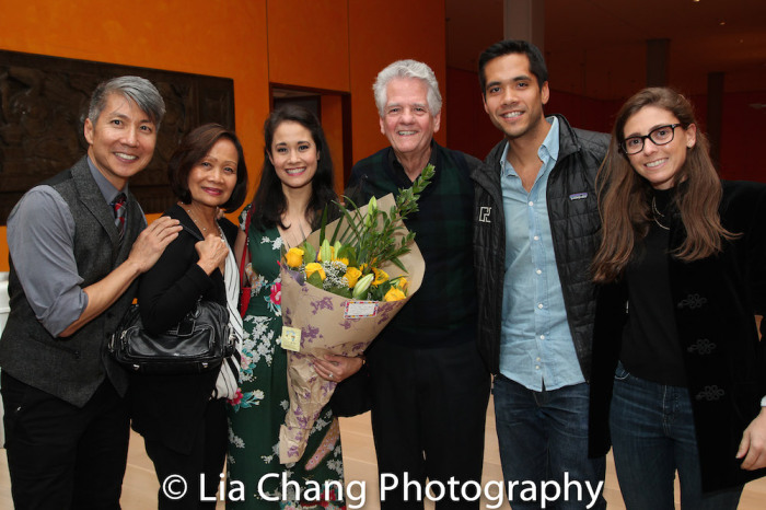 GOLD MOUNTAIN Creator Jason Ma, Leah Anolin Ewoldt, Ali Ewoldt, Bob Ewoldt, Greg Ewoldt. Photo by Lia Chang