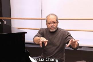 Musical Director Nat Adderley, Jr. Photo by Lia Chang