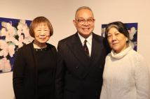 Lillian Ling, Arlan Huang and Tomie Arai. Photo by Lia Chang