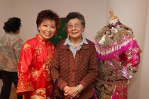 Mee Mee Chin and her mother, Tsun Wan Chin. Photo by Lia Chang