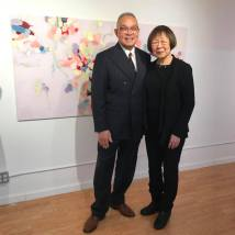 Arlan Huang and his wife, Lillian Ling. Photo by Lia Chang