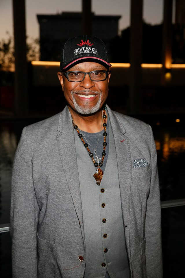 "Actor James Pickens Jr. attends the opening night performance of ""Lackawanna Blues."" Photo by Ryan Miller/Capture Imaging."
