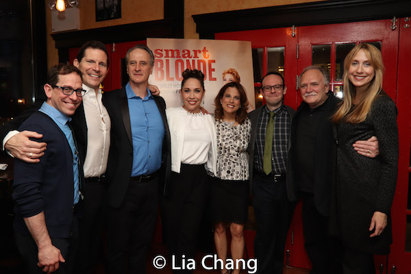Garth Kravits, Peter Flynn, Mark Lotito, Andrea Burns, Andrea Bianchi, Jonathan Spivey, Willy Holtzman and Laura Jordan. Photo by Lia Chang