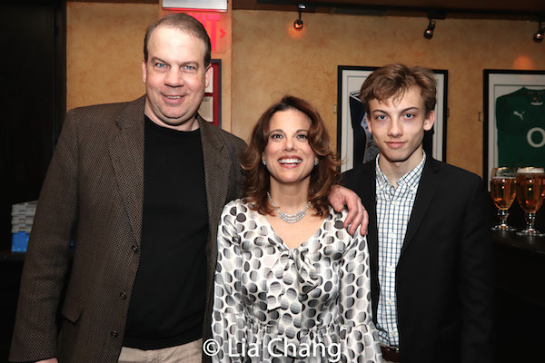 Andrea Bianci and her husband, John Wooten and their son. Photo by Lia Chang