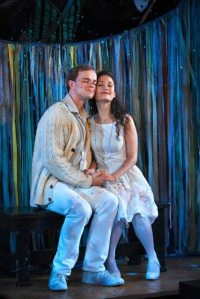 In THE FANTASTICKS Off-Broadway with Jim Schubin
