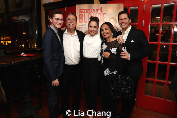 Hudson Flynn, Richard Burns, Andrea Burns, Leda Burns, Peter Flynn. Photo by Lia Chang