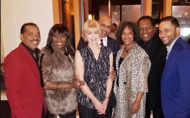 Obba Babatundé, KiKi Shepard, J, Ruben Santiago-Hudson, Wren T. Brown and Jason Dirden. Photo courtesy of Facebook