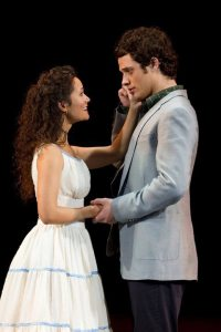 On the 1st National Tour of WEST SIDE STORY with Kyle Harris