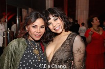 Daphne Rubin-Vega and Eva Noblezada. Photo by Lia Chang